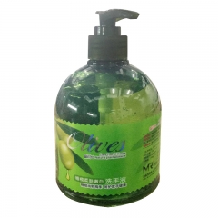 橄榄润肤补水洗手液